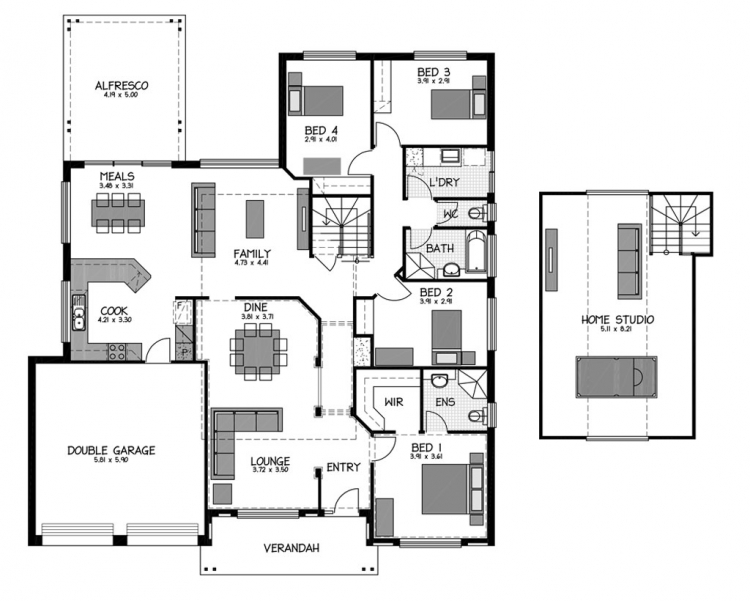 Tusmore loft rossdale homes rossdale homes adelaide for Home designs adelaide