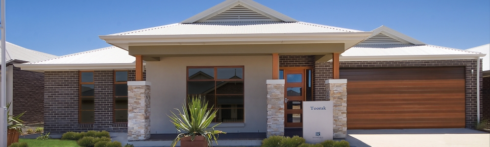 Toorak seaford front elevation rolla door windows merged2 Garden 2014 web