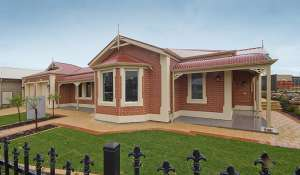 Morialta bay window front elevation17
