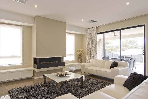 Bellevue familykitchen 1 Fire Place Split Level Double Storey Custom Home  Builder  Adelaide  South Australia