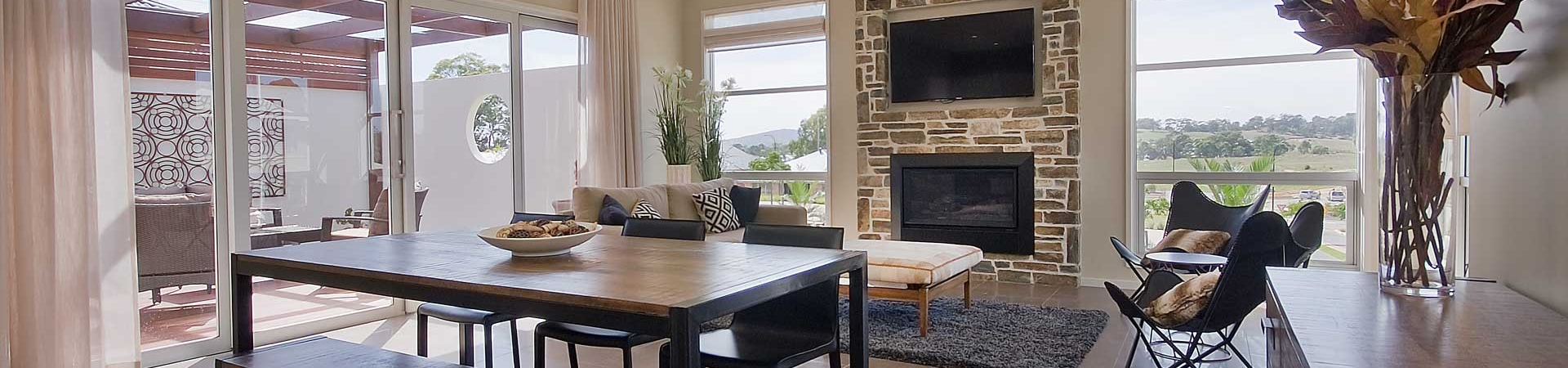 Rossdale Homes Fire Place 2